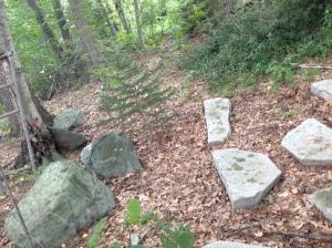 Stones from Bridge Abutment 1